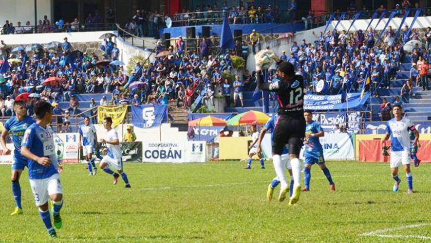 Partido de Suchitepéquez vs Cobán por el Torneo Clausura   Abril 2017