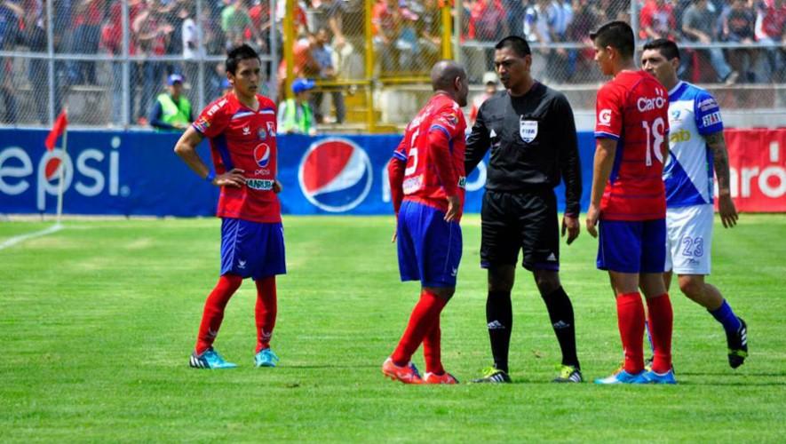 Partido de Suchitepéquez vs Xelajú por el Torneo Clausura | Abril 2017