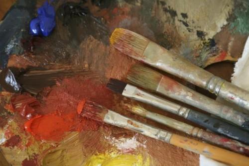 Artist's Studio still life