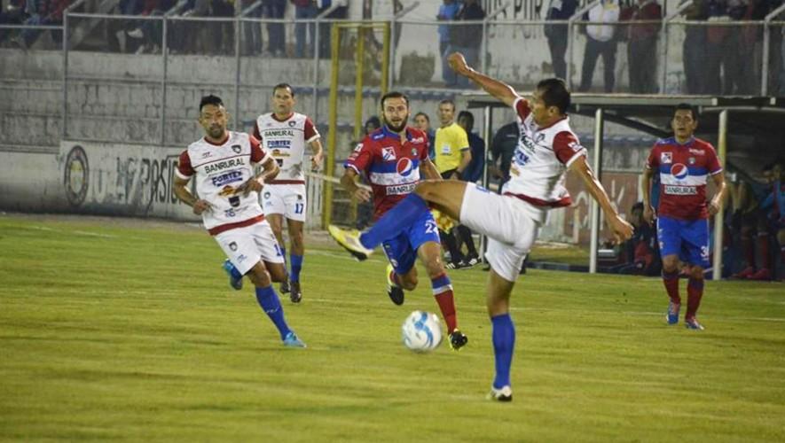 Partido de Xelajú vs Mictlán por el Torneo Clausura   Abril 2017