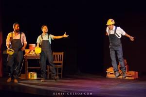 Show de comedia interactiva, Construyendo Historias.
