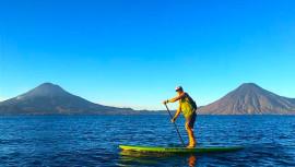 Lugares para hacer paddle board en Guatemala