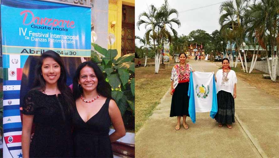 Bailarinas representan a Guatemala en el Danzpare 2017 Honduras