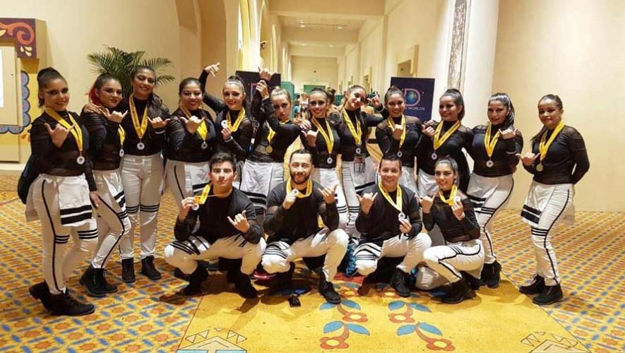 Bailarines guatemaltecos fueron finalistas en el concurso The Dance Worlds 2017