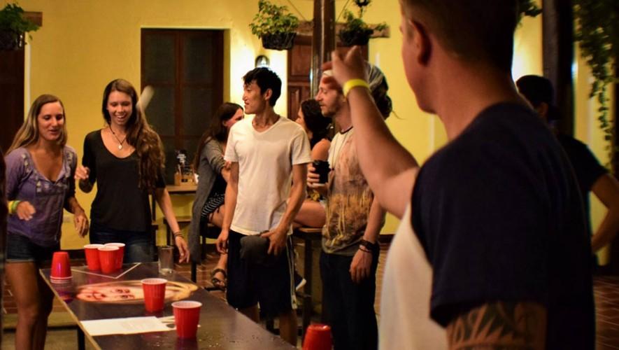 Torneo de Beer Pong en Antigua Guatemala   Mayo 2017