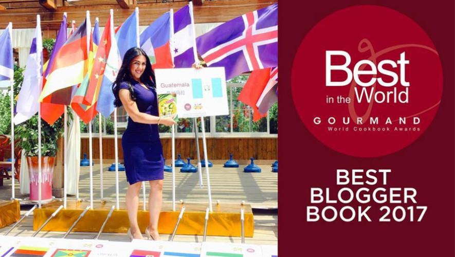 Chef guatemalteca, María José Carpio, ganó el premio Best Blogger Book, China 2017