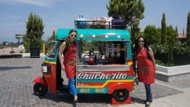 Chucherito, la colorida mini camioneta extraurbana de chucherías chapinas