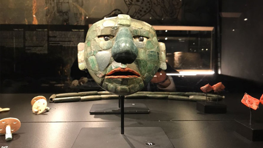 Colección de piezas arqueológicas de los Mayas se exhiben en Europa 2017-2018