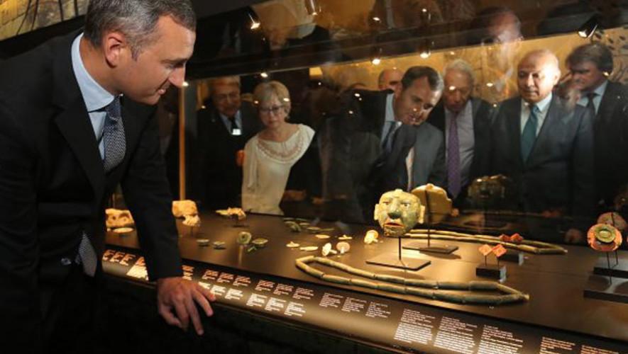 Colección de piezas arqueológicas de los Mayas se exhiben en Europa