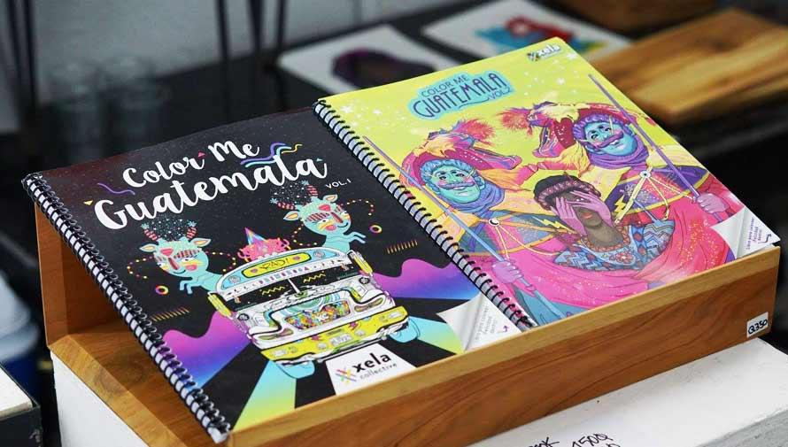 Color Me Guatemala, libros para colorear inspirados en la cultura guatemalteca