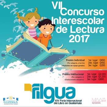 Concurso Interescolar de Lectura Filgua 2017