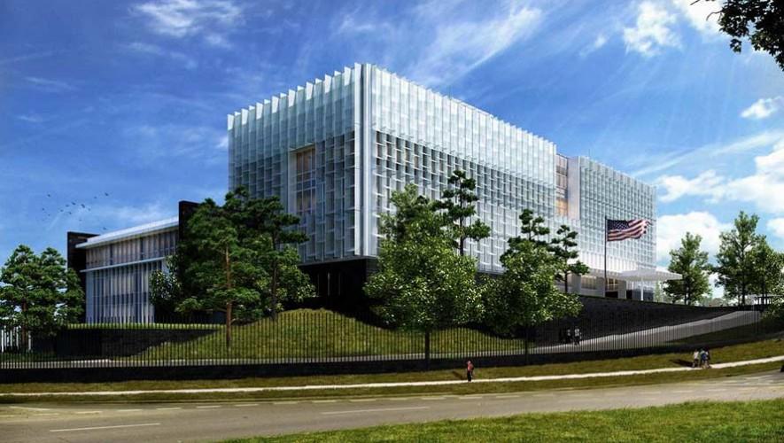 Conoce el diseño de la nueva Embajada de Estados Unidos en Guatemala