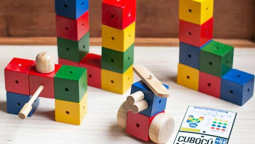 Cubocú Toys, juguetes educativos creados por artesanos guatemaltecos