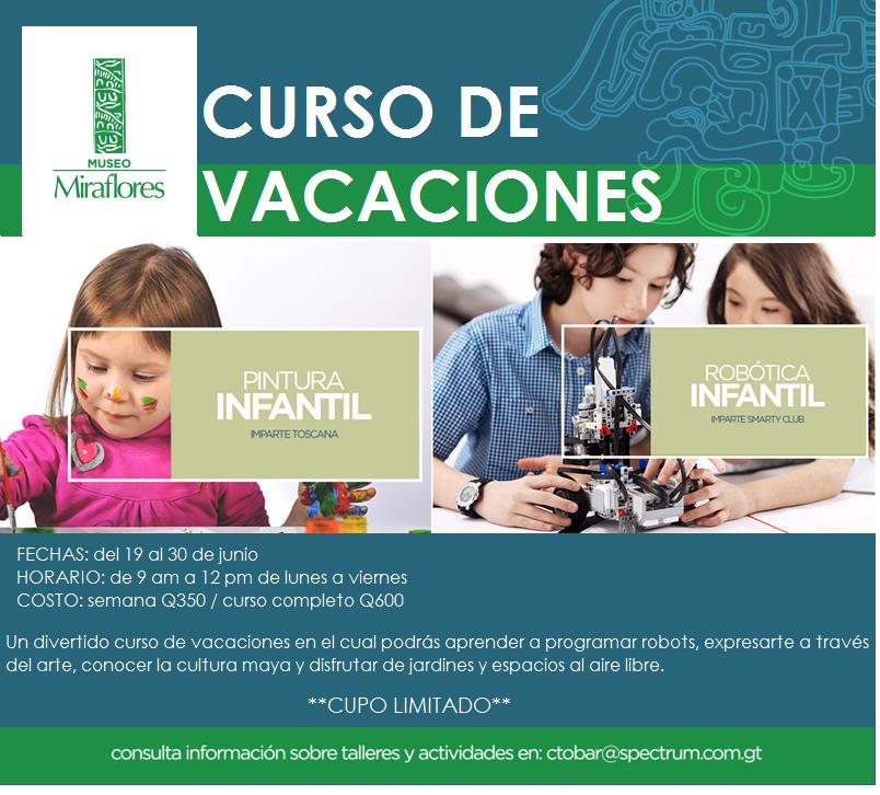 Curso de vacaciones de medio año en Guatemala