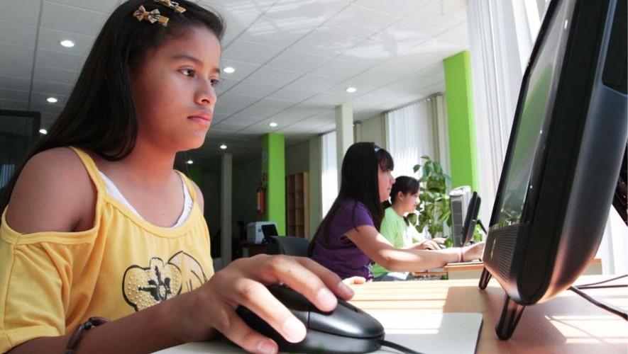Cursos gratuitos de matemática, inglés y computación en Villa Nueva