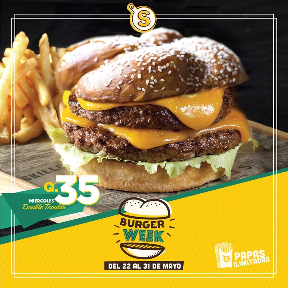 Día de la hamburguesa en Guatemala