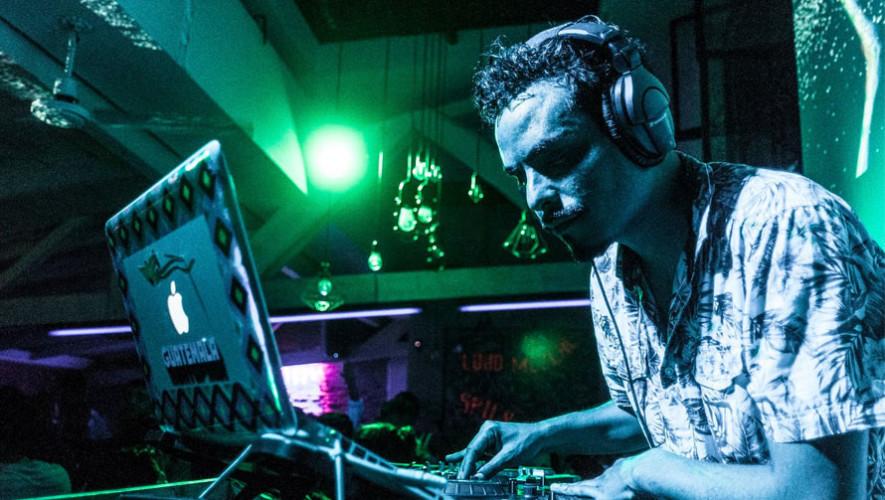 DJ Masaya en El Ático, Antigua Guatemala   Junio 2017