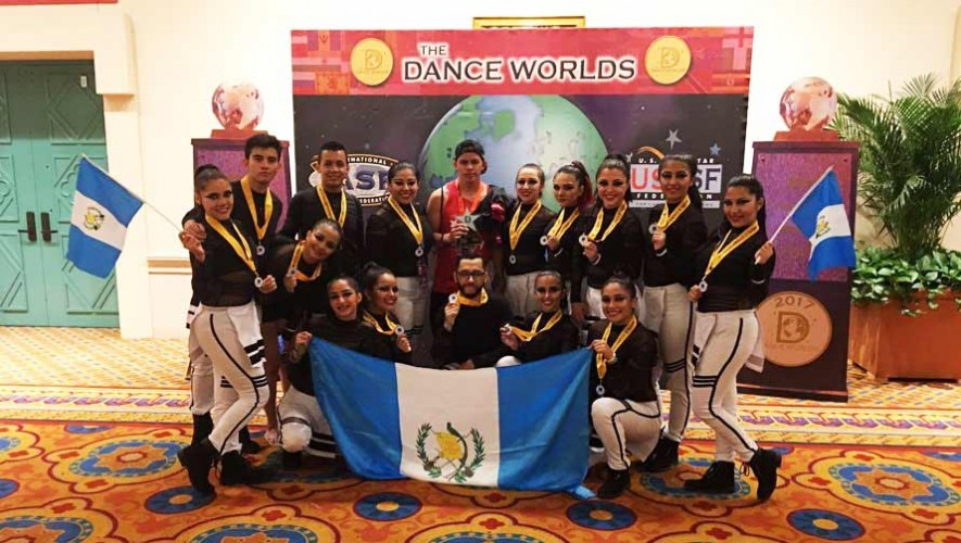 Equipos de baile guatemaltecos fueron finalistas en el concurso The Dance Worlds 2017
