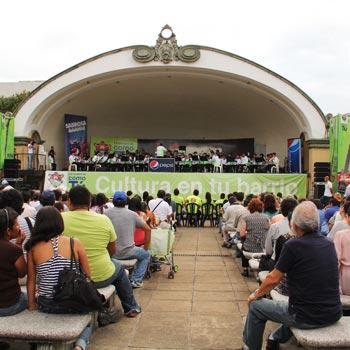 Festival de cultura en el Centro Histórico
