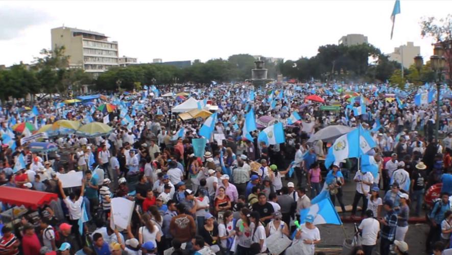 Presentación del documental Guatemala ¿Algo cambió?   Mayo 2017