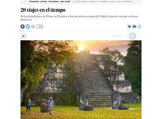 Guatemala entre los 20 viajes en el tiempo, según El País