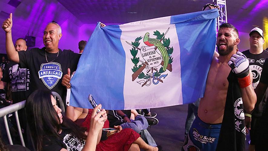 Wassmer puso nuevamente la bandera de Guatemala en alto en uno de los eventos más importantes de MMA en Latinoamérica. (Foto: Sher Dog)