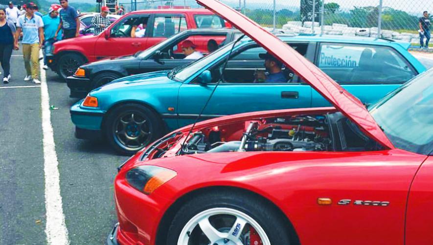 Exhibición de carros japoneses en Guatemala | Junio 2017