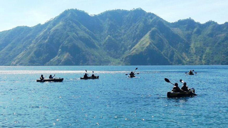 Kayak en laguna de Ayarza con K'ashem | Mayo 2017