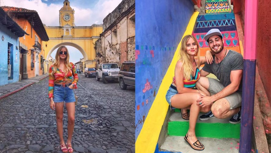 La visita de Valentina Ferragni, blogger italiana, a Guatemala