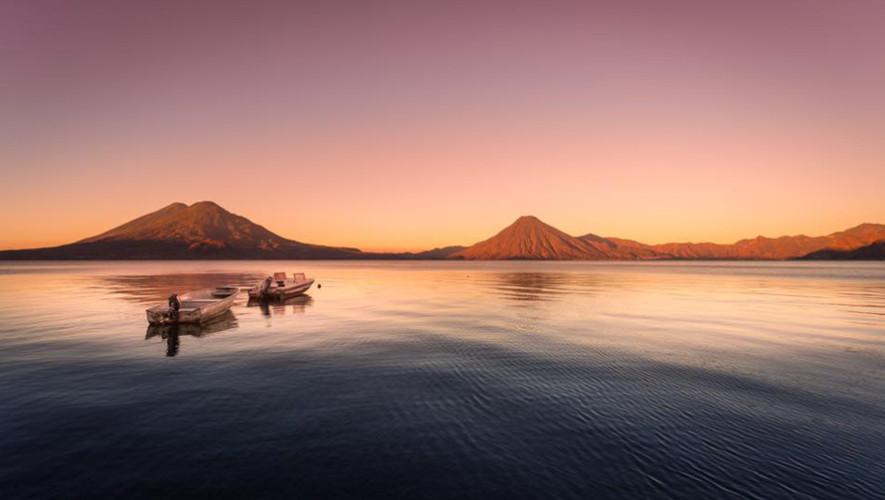 Lago de Atitlán en Guatemala