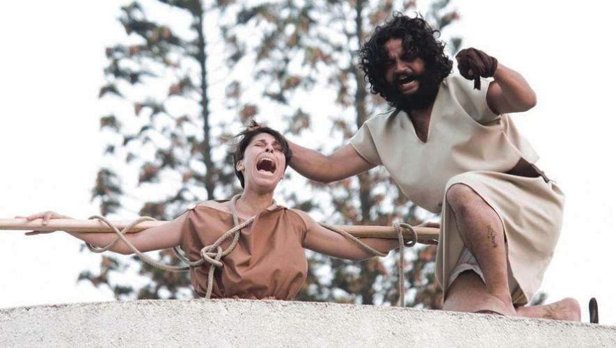 """Obra teatral """"Las Troyanas"""" en Centro Cultural Miguel Ángel Asturias   Junio 2017"""