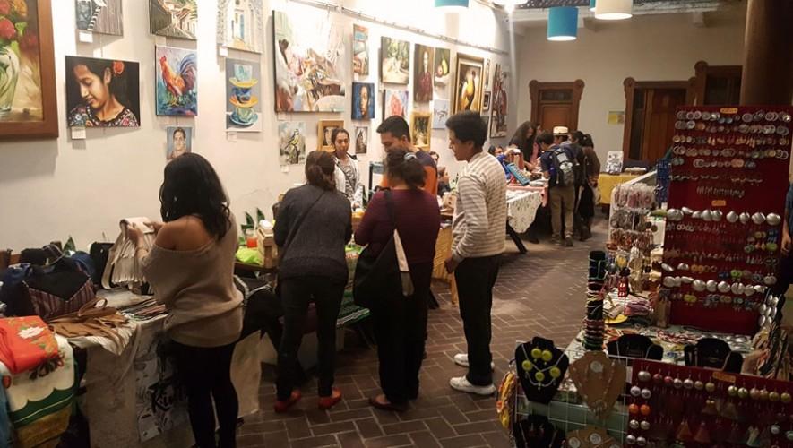 Mercado artesanal en Pasaje Tatuana | Mayo 2017
