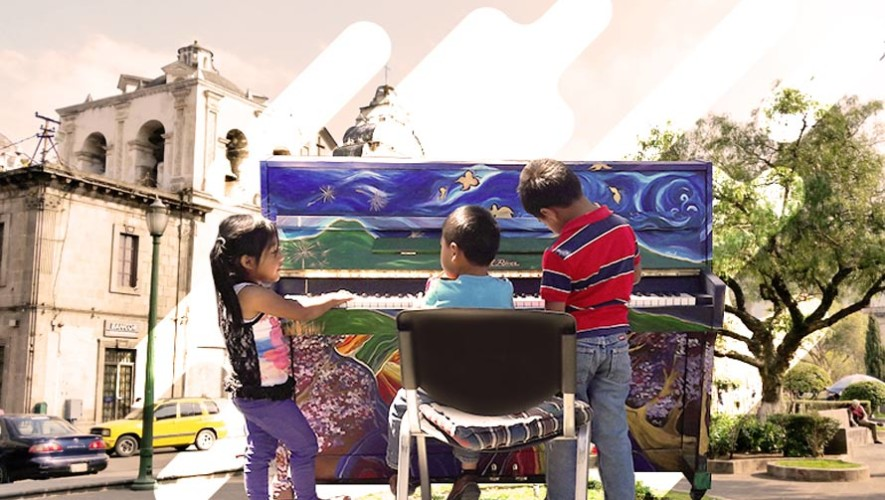 Movimiento Viaje busca llevar un piano a todos las comunidades rurales de Guatemala