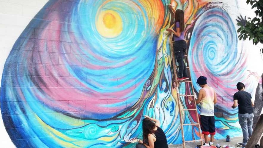 Podrás ser parte de las actividades en el Festival de Murales Bonito Mi Barrio 2017