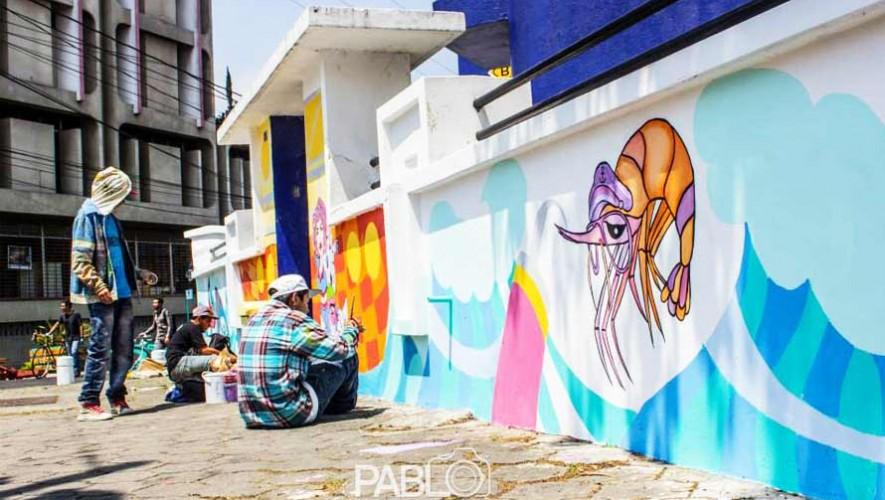 Podrás ser parte de las actividades en el Festival de Murales Bonito Mi Barrio