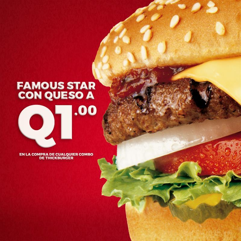 Promociones de hamburguesas Guatemala