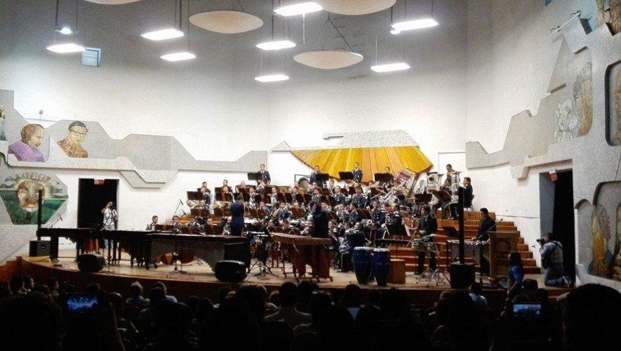 Recital de marimba en Conservatorio Nacional de Música | Mayo 2017