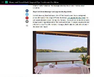 Spa de Guatemala se encuentra entre los mejores lugares para mamá, según Huffpost