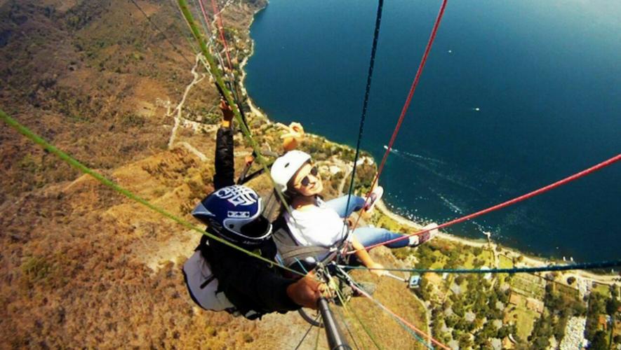 Viaje en Parapente sobre el Lago de Atitlán, Solola   Mayo 2017