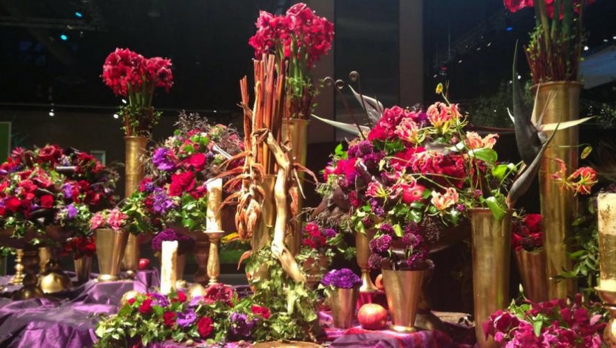 Exposición de arreglos florales artísticos en Metronorte | Mayo 2017