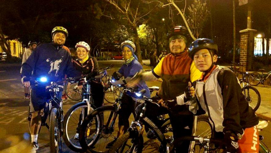 Paseo en bicicleta por celebración de dos años de Pedaleros   Mayo 2017