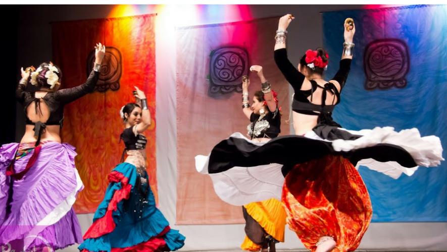 Show de danza tribal en Museo del Ferrocarril   Mayo 2017