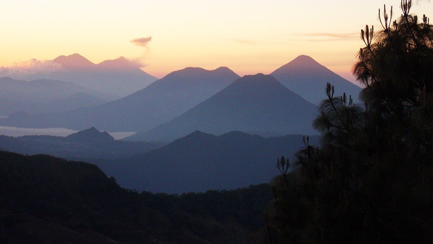 Ascenso a volcanes Zunil y Santo Tomás   Mayo 2017
