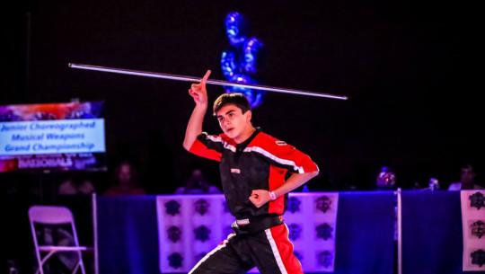 Armendariz sigue dando espectáculo con sus actos de kata en las diferentes competencias internacionales. (Foto: Sport Martial Arts)