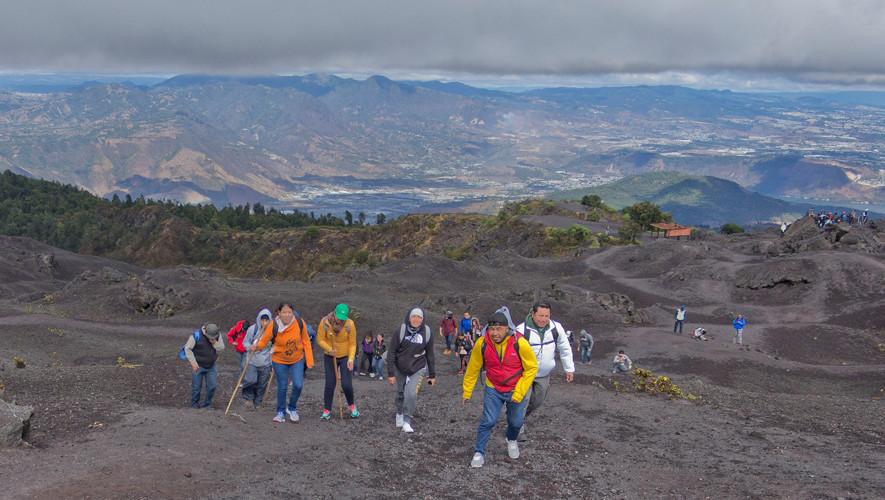 Ascenso de un día al volcán de Pacaya   Mayo 2017