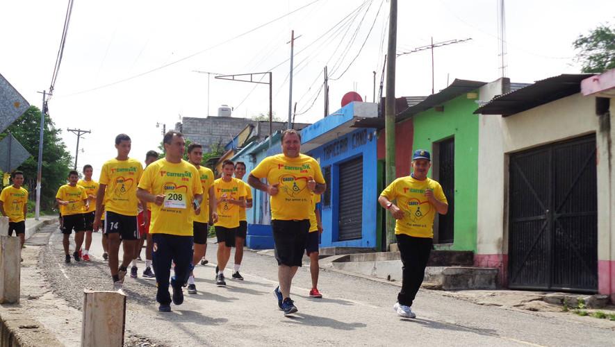 Carrera 5K Todos corriendo por CADEP en Guastatoya | Mayo 2017