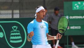 El tenista #1 de Guatemala logró su mejor resultado en el Circuito Profesional de la ITF en lo que va del año. (Foto: COGuatemalteco)