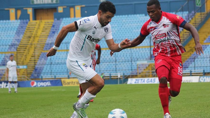 Partido de Comunicaciones vs Malacateco por el Torneo Clausura   Mayo 2017
