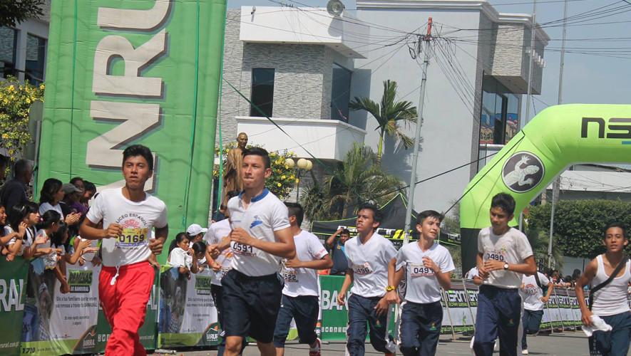 Carrera corriendo por la Nutrición en Malacatán   Mayo 2017