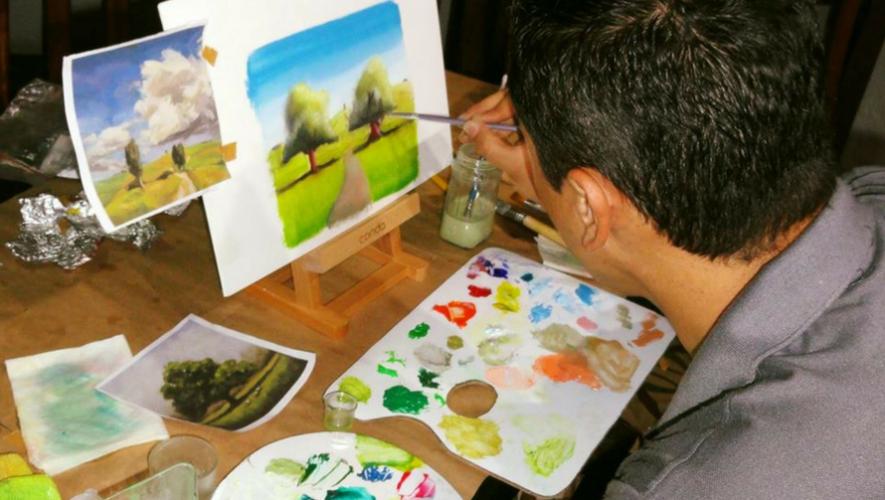 Curso de pintura con acuarela en La Casa de Cervantes | Mayo 2017